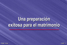 Preparando a la juventud para el matrimonio [56-d]