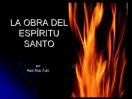 ppp.LA OBRA DEL ESPÍRITU SANTO (1)