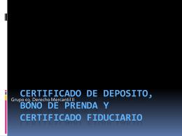 PRESENTACION MERCANTIL II - Bienvenidos