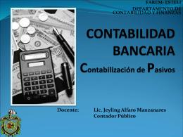 CONTABILIDAD Y ANÁLISIS DE CUENTAS