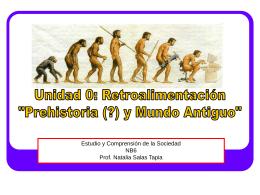Prehistoria y Primeras Civilizaciones