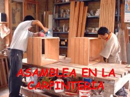HERRAMIENTAS DEL CARPINTERO
