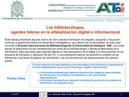 AT+i_bibliotecologia - Universidad de Antioquia