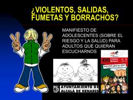 Manifiesto de adolescentes 2006 Alcalá de Henares