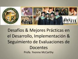 Desafíos y Mejores Prácticas en el Desarrollo, Implementación y