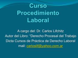 Curso de Procedimiento Laboral Práctico