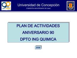 Diapositiva 1 - Departamento de Ingeniería Química