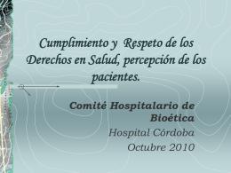 Hospital Córdoba - Gobierno de la Provincia de Córdoba