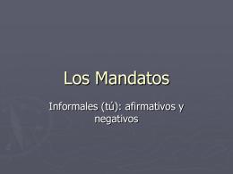Los Mandatos
