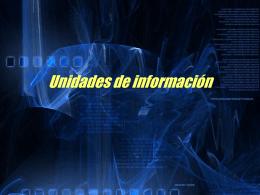 Unidades de información