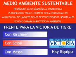 Estado Ambiental Tigre