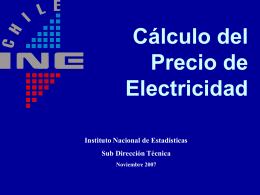 electricidad - Instituto Nacional de Estadísticas