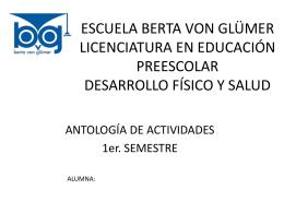 Antología de actividades DFyS 14-15