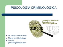 psicologia criminologica antecedentes CORTO