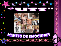 EMOCIONES - Blogs de Docentes USS