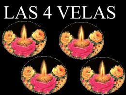 Las cuatro velas - clasealestilocetyruiz