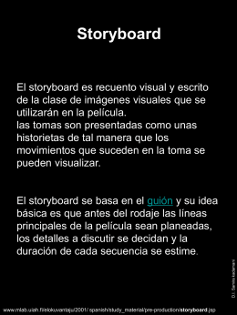 Storyboard - Design blog