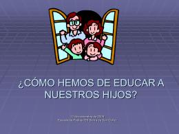 ESTILOS EDUCATIVOS FAMILIARES