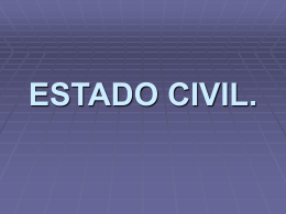 ESTADO CIVIL. - Uruguay Educa