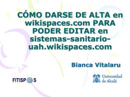 pp-darse dealta-wikis-Bianca - sistemas-sanitarios-UAH