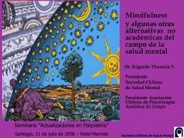 presentación - Sociedad Chilena de Salud Mental