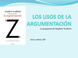 los usos de la argumentación - Instituto de Investigaciones Filosóficas