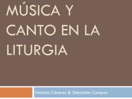 Música y Canto en la liturgia - Escuela de Verano Itepa Temuco