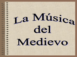 "Power Point:""La Música Medieval"""
