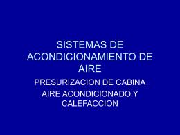 sistemas de ciclo por aire - volver ADA-ITS
