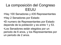 Congreso EEUU Actual - the US Office on Colombia