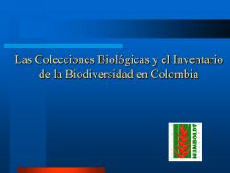 Colecciones biológicas - Intranet