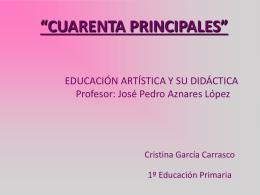 """""""LOS CUARENTA PRINCIPALES"""""""