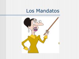 Los Mandatos - senoritakudrakespanol