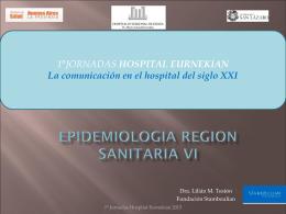 Epidemiologia - Hospital Ezeiza