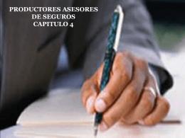 Productor de seguro (Presentación)