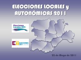 Documentación completa del dispositivo para las elecciones 2011