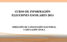 Presentación de PowerPoint - Instituto Estatal Electoral del Estado