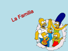La familia Simpson (MS PowerPoint 1.7 MB)
