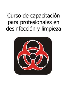 Curso de Capacitacion para profesionales en desinfeccion y limpieza
