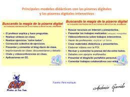 Modelos didácticos 2 presentación Powerpoint