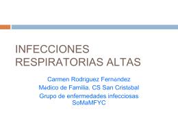 Infecciones respiratoria bajas Importancia