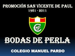 BODAS DE PERLA 1981 - 2011