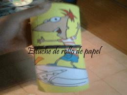 Estuche de rollo de papel