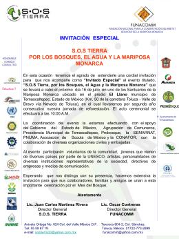 Programa S.O.S. Tierra