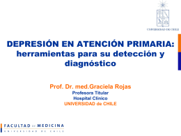 PRESENTACIÓN: Herramientas para el diagnóstico y la detección