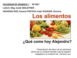 Qué come hoy Alejandro?
