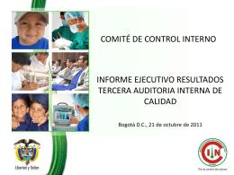 Informe Ejecutivo Auditoria Interna de