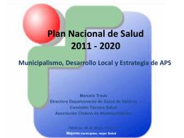 Recurso Humano APS - Asociación Chilena de Municipalidades