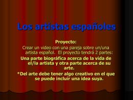 Los artistas hispanos