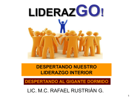 Conferencia de Liderazgo